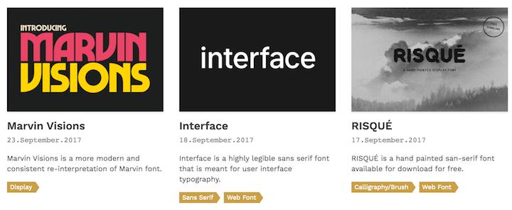 fondfont mejores webs tipografias gratis