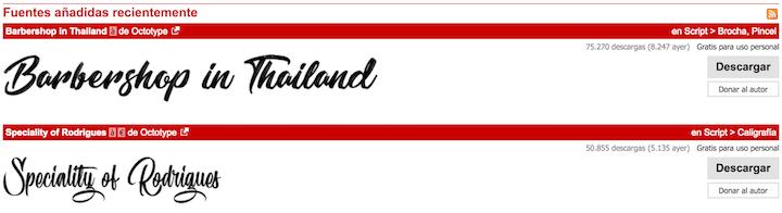 mejores paginas para descargar tipografias gratis