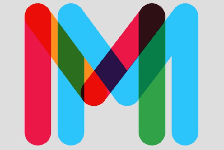 multicolore tipografia moderna gratis