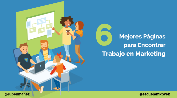 mejores paginas encontrar trabajo en marketing
