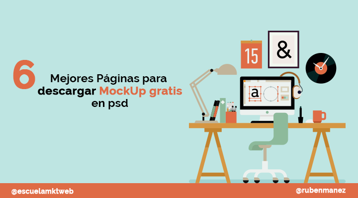 Escuela Marketing and Web - Páginas para descargar mockup gratis en psd