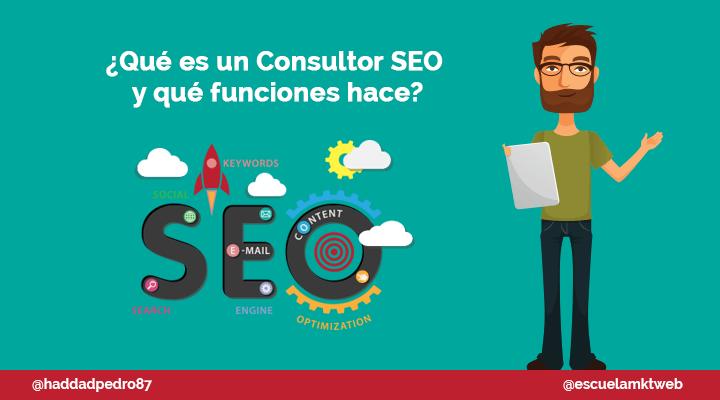 Escuela Marketing and Web - Consultor SEO: Qué es y qué funciones hace