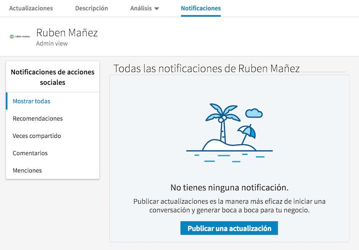 notificaciones linkedin