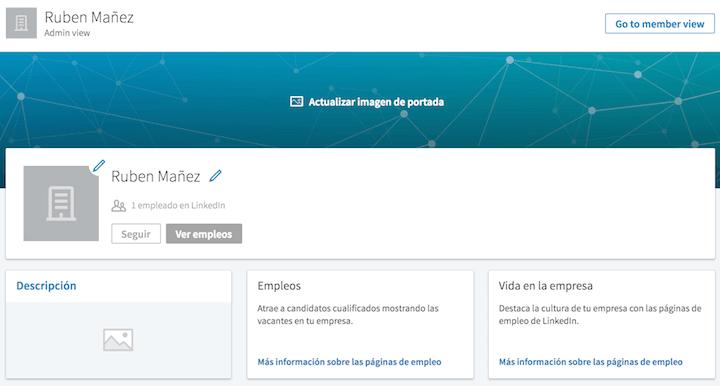 como registrar empresa linkedin