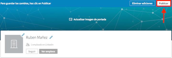 pagina empresa linkedin