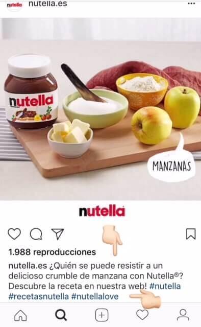 ejemplo de copy para instagram