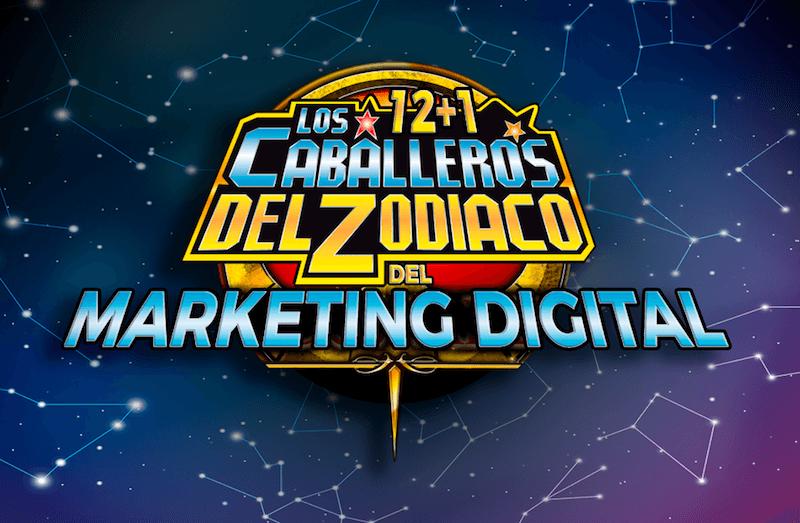 Escuela Marketing and Web - Los 12 + 1 Caballer@s del Zodíaco del Marketing Digital