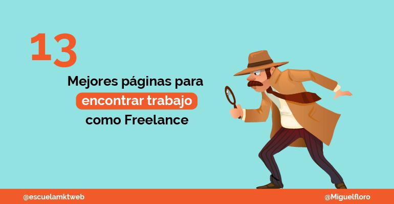 Escuela Marketing and Web - Mejores páginas para encontrar trabajo como Freelance en español [2019]