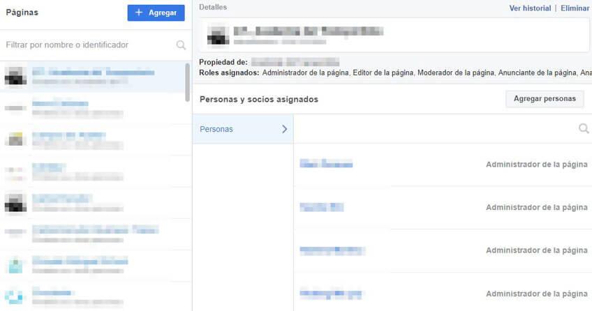 Administrar cuenta publicitaria Facebook