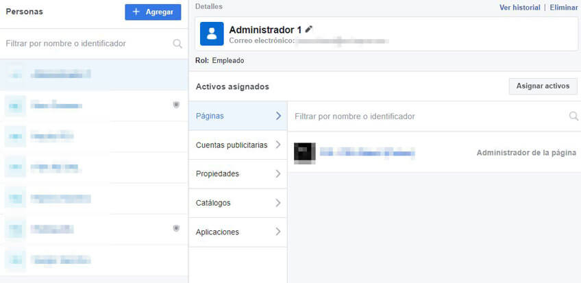 Dar permisos Facebook Business Manager