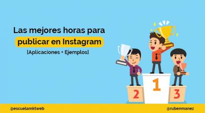 Mejor hora para publicar en Instagram