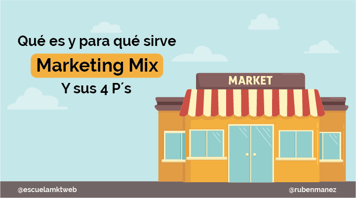 Escuela Marketing and Web - Qué es el Marketing Mix: Las 4 Ps del marketing [Ejemplos]