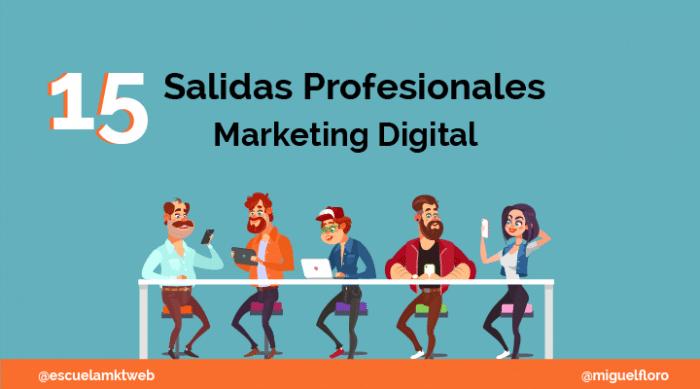 Salidas Profesionales Marketing Digital