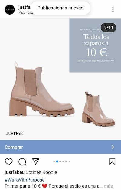 anuncio carrusel publicidad en instagram