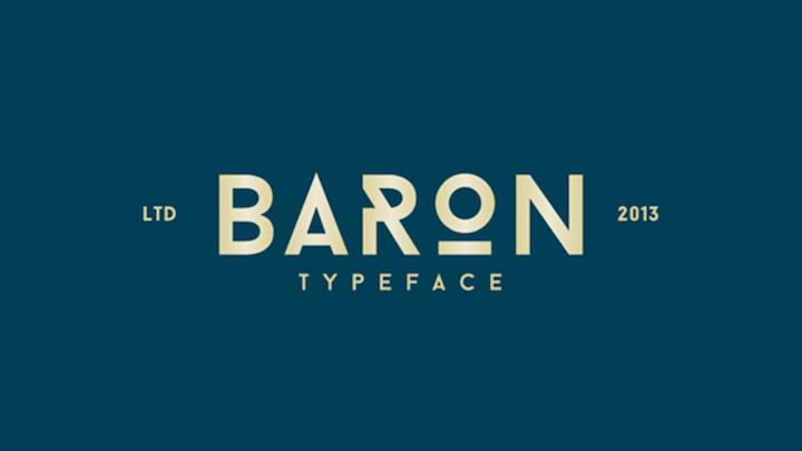 baron tipografia gratis