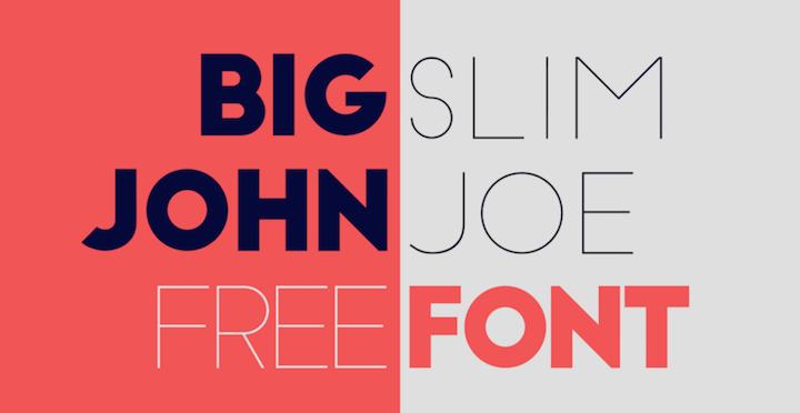 big slim mejores tipografias gratis