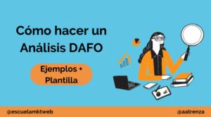 como hacer un analisis DAFO
