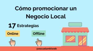 como promocionar un negocio local