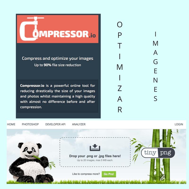 como reducir el peso de las imagenes en wordpress