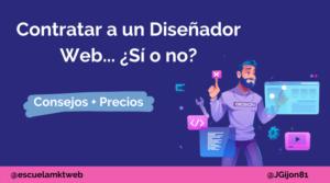 contratar un diseñador web