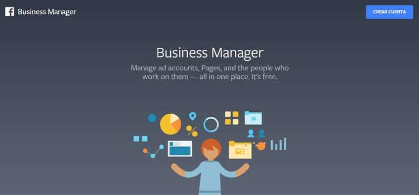 Crear una cuenta en Business Manager