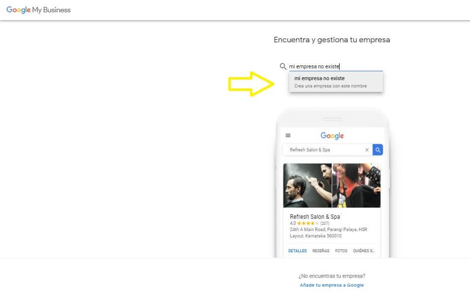 crear ficha en Google My Business