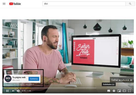 Ejemplo publicidad en video