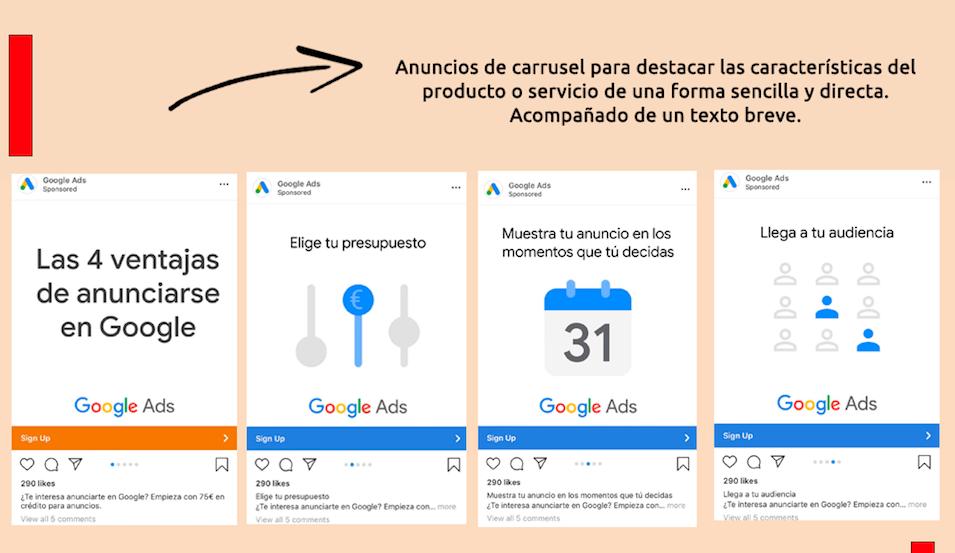 Ejemplos de anuncios
