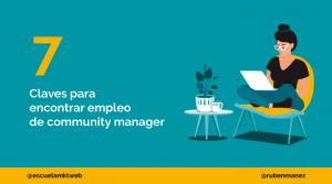 como encontrar empleo de community mamager