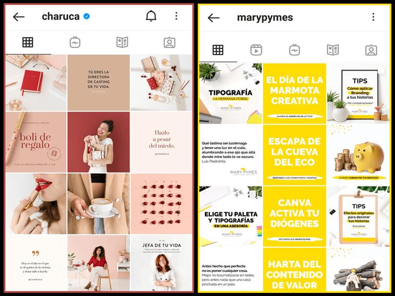 estrategias de marketing en instagram feed