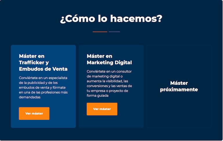 Máster Escuela Marketing and Web