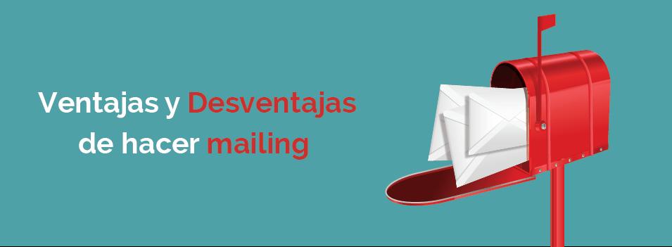ventajas del mailing